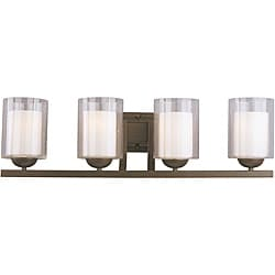 Woodbridge Lighting Cosmo 4-light Bronze Bath Bar