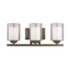 Woodbridge Lighting Cosmo 3-light Bronze Bath Bar