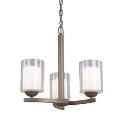 Woodbridge Lighting Cosmo 3-light Bronze Chandelier