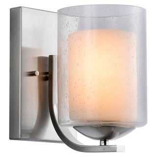 Woodbridge Lighting Cosmo 1-light Satin Nickel Bath Sconce