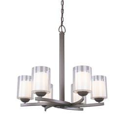 Woodbridge Lighting Cosmo 6-light Bronze Chandelier
