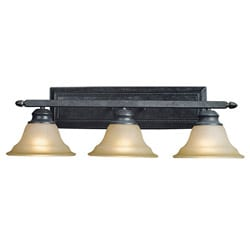 Woodbridge Lighting Calais 3-light Burnish Bronze Bath Bar
