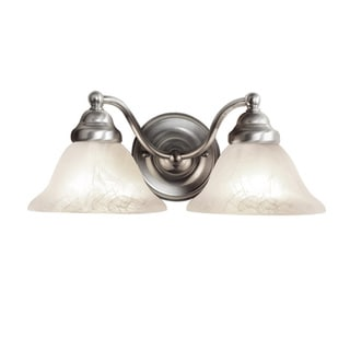 Woodbridge Lighting Anson 2-light Satin Nickel Bath Sconce