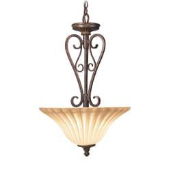 Woodbridge Lighting Avondale 2-light Rustic Iron Pendant
