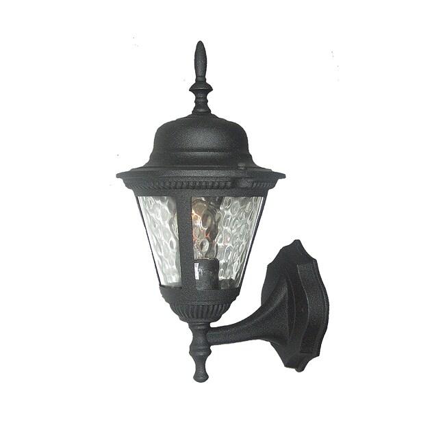 Woodbridge Lighting Basic 1-light Black Outdoor Wall Light