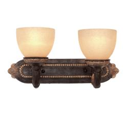 Woodbridge Lighting Rosedale 2-light Tortoise Shell Bath Bar