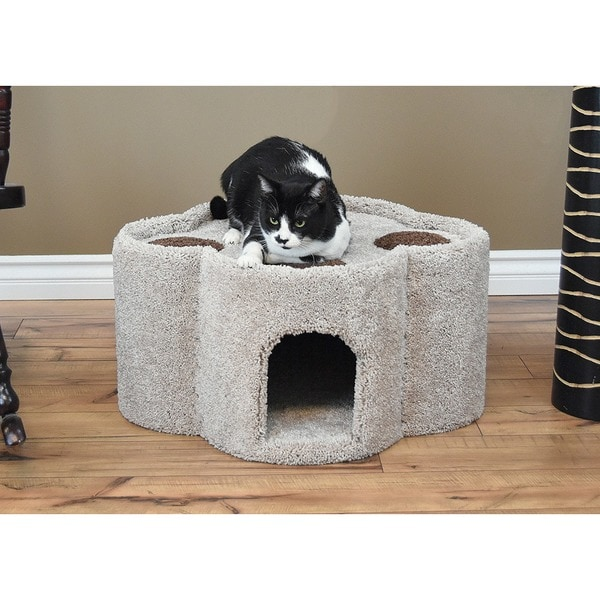 Shop New Cat Condos Paw Print Condo Free Shipping Today
