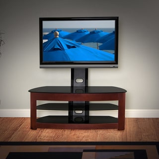 Avista Milano Plus Rich Espresso 50-in Wide Foldtech TV Stand with Multi Purpose Mounting System