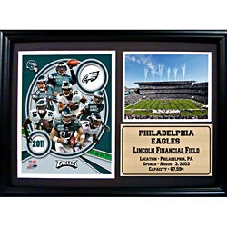 Encore Select 2011 Philadelphia Eagles Photo Stat Frame (12x18)