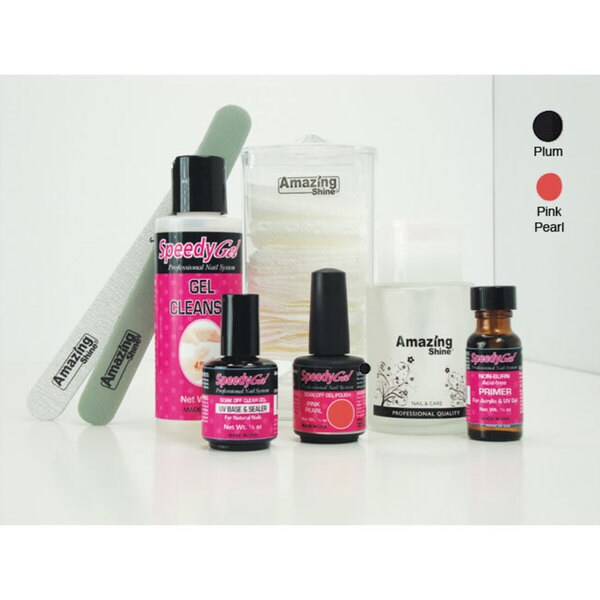 Amazing Shine SpeedyGel Nail Polish Kit- 21 Day Gel Nail Polish