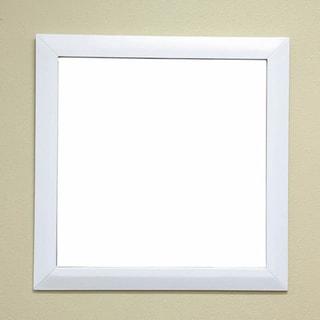 Gianna White Bathroom Vanity Mirror (Option: White)