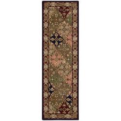 Nourison Hand-tufted Caspian Multicolor Wool Rug (2'3 x 7'6)