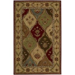 Nourison Hand-tufted Caspian Multicolor Wool Rug (3'6 x 5'6)
