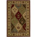 "Nourison Hand-tufted Caspian Multicolor Wool Rug (3'6 x 5'6) - 3'6"" x 5'6"""