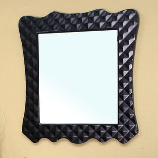 Veneto Bathroom Vanity Mirror (Black)