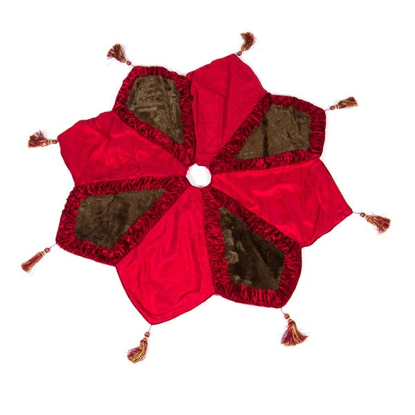 Christmas Noel Star Tree Skirt by Selections by Chaumont