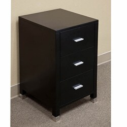 Visconti Black Bridge Bathroom Vanity cabinet
