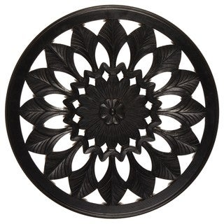 Sunflower Wood Wall Hanging (India)
