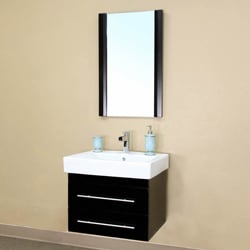 Castelli Black Bathroom Vanity