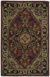 Nourison Hand-Tufted Caspian Red Wool Accent Rug (2'6 x 4')