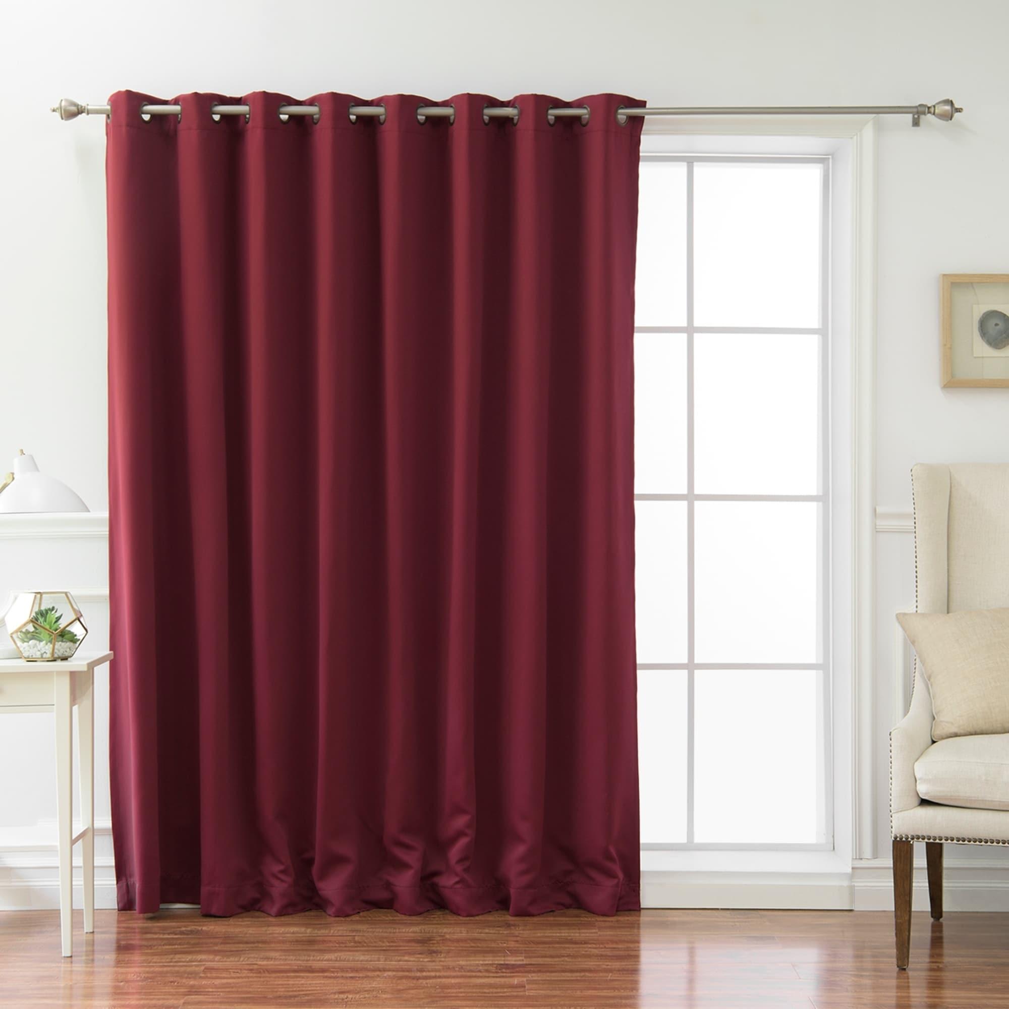 Aurora Home Wide Fire-retardant 96-inch Blackout Curtain