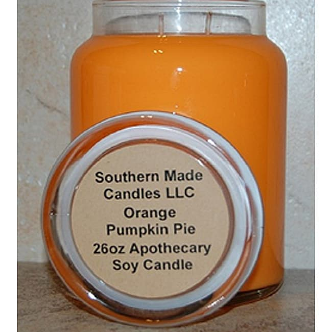 Southern Made Candles Pumpkin Pie 26-oz Apothecary Soy Candle