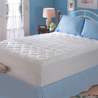 Sealy Cotton Lumbar Support Twin/ Full-size Mattress Pad