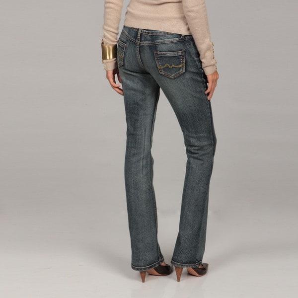 Deja Bleu Women's Bootcut Five-pockets Jeans