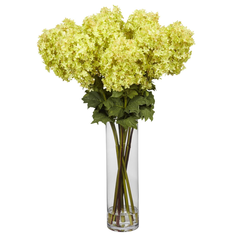 Giant Hydrangea Silk Flower Arrangement