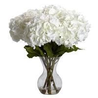 Large Hydrangea with Vase