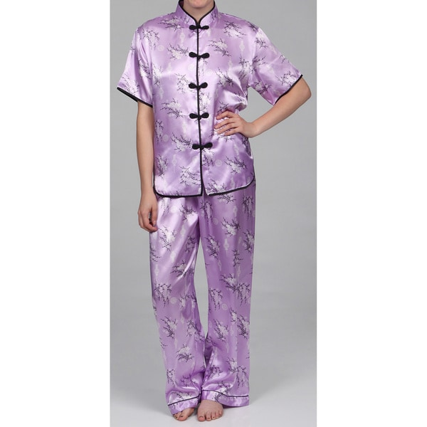 fd89ea87c1 Alexander Del Rossa Women  x27 s Traditional Chinese Inspired Pajamas