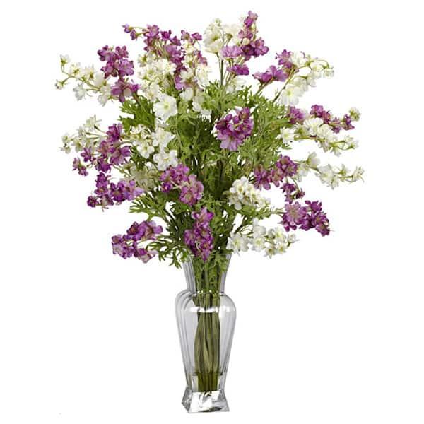 Dancing Daisy Silk Flower Vase