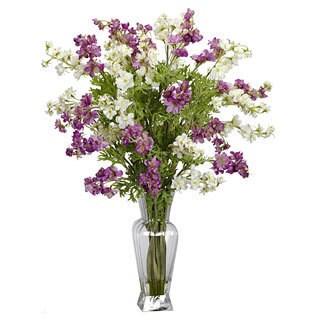 Dancing Daisy Silk Flower Vase Arrangement