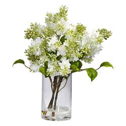Flowers artificial plants for less clearance liquidation overstock clearance lilac silk flower arrangement mightylinksfo