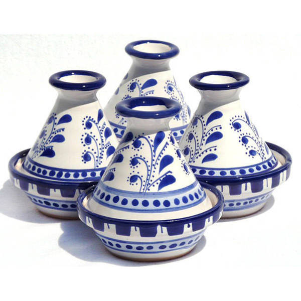 Azoura Design Mini 3-inch Serving Tagines (Set of 4). Opens flyout.