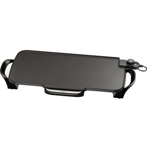 Presto 22-inch Electric Griddle w/ Removable Handles