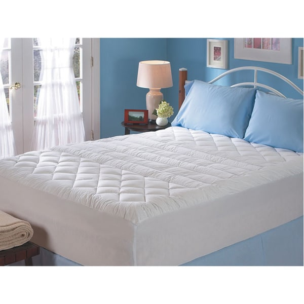 Sealy Cotton Lumbar Support Queen/ King/ Cal King-size Mattress Pad