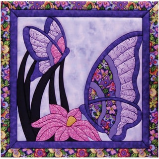 Butterfly 15.5x15.5 Quilt Magic Kit