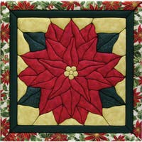 Poinsettia 12x12 Quilt Magic Kit