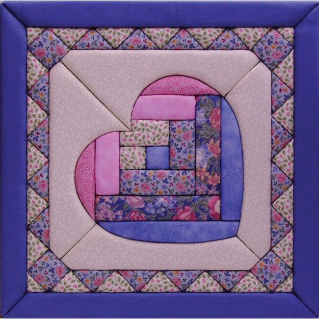 Quilt Magic Heart Kit (12x12) (Heart) (Fabric)