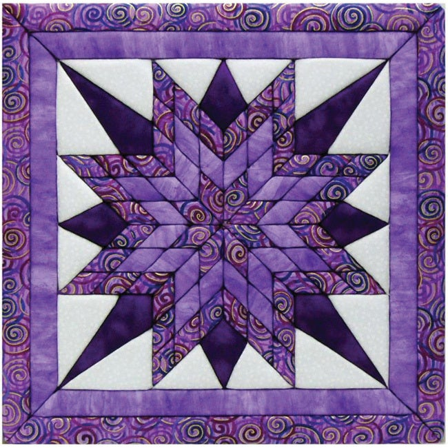 Starburst 12x12 Quilt Magic Kit (Starburst) (Fabric)