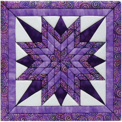 Starburst 12x12 Quilt Magic Kit