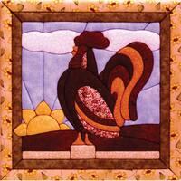 Quilt Magic Rooster Quilt Magic Kit (12x12)