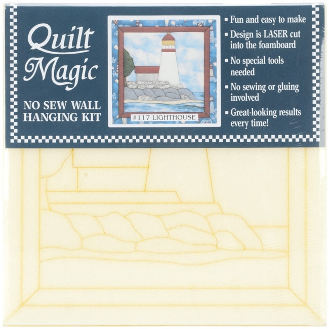 Quilt Magic Lighthouse Quilt Kit (12x12) (Lighthouse) (Fa...