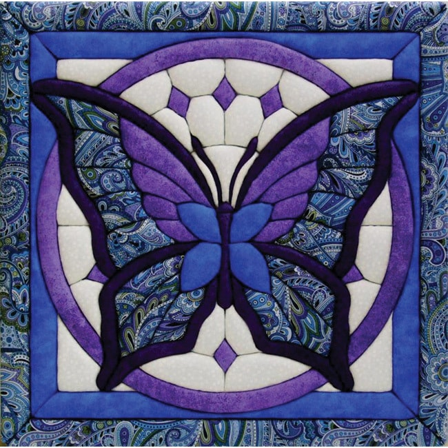 Butterfly 12x12 Quilt Magic Kit (Butterfly) (Fabric)
