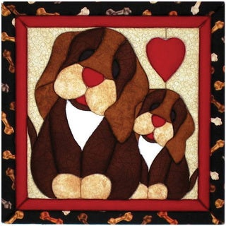 Puppy Love 12x12 Quilt Magic Kit