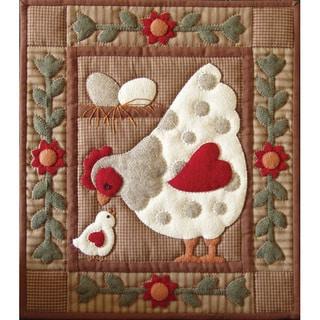 Spotty Hen 13x15 Quilt Kit