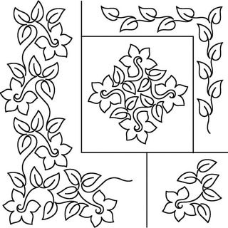 Sten Source Daffodil Quilt Stencils By Patricia Ritter