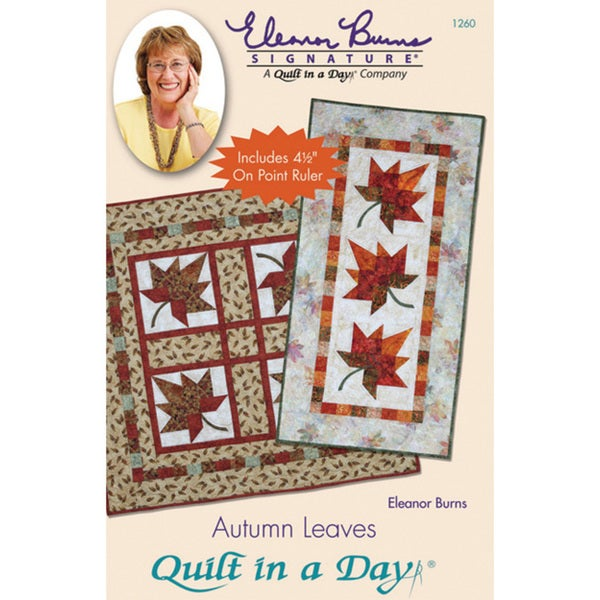 Quilt In A Day 'Autumn Leaves'
