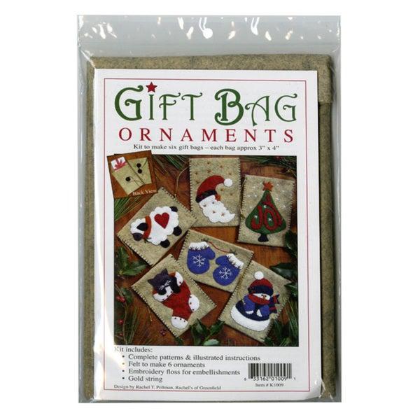 Rachels of Greenfield Gift Bag Ornaments Kit (3x4)